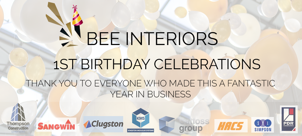 BEE Interiors celebrates a year in business!