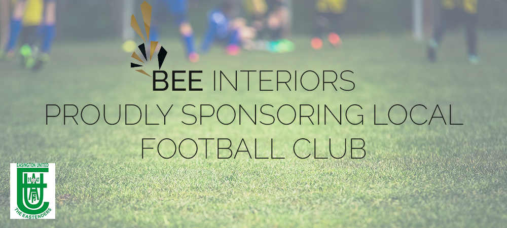 BEE Interiors proudly sponsoring local football club