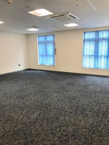 carpetted room